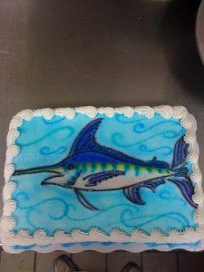 Pinterest Marlin Cake