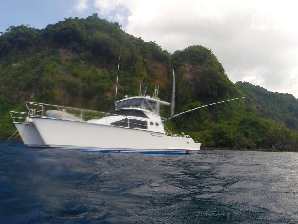 November Rain, water fall, vanua lava, vanuatu, sport fishing charter, game fishing charter, marlin charter