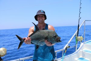 Black GT, caught with jigging