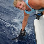 blue marlin, marlin, vanuatu game fishing, sport fishing,