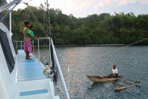 Vanuatu, canoe, Gaua,
