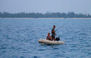 Giant Trevelly, Vanuatu game fishing, vanuatu sports fishing, vanuatu marlin fishing, vanuatu charter, banks islands, rowa shoals, popping, red bass,