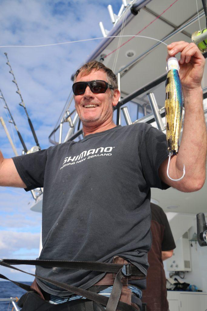 Bonze lures, Harking Boatbuilding, Whanganella Banks