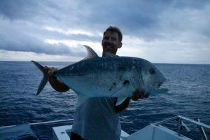 GT, poppers, vanuatu sport fishing, vanuatu game fishing, espiritu santos game fishing, vanuatu