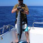 Wahoo, game fishing vanuatu, sport fishing vanuatu,