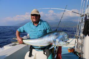 Vanuatu sport fishing, mahi mani