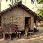 ni-van village, hut, vanuatu, ureparapara