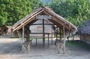 outdoor market, vanuatu market, ureparapara market, banks island hut,