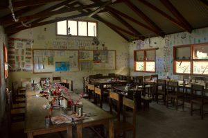Vanuatu school, hut classroom, Ni-Van village, Ureparapara