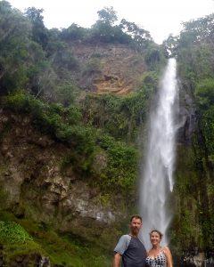 Waterfall, vanuatu, sport fishing, charter vanuatu, game fishing vanuatu, banks islands, vanua lava