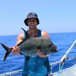 black GT, sport fishing vanuatu, game fishing vanuatu, sabine shoals, november rain