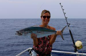 Dog fish tuna, vanuatu game fishing, november rain, espirtu