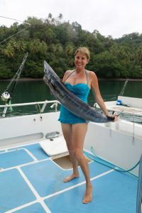Gaua, Vanuatu, sport fishing vanuatu, wahoo, game fishing, marlin fishing, blue marlin, november rain