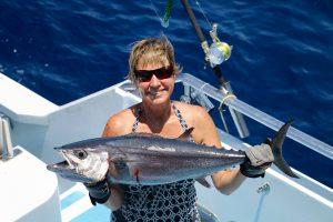 Dog tooth tuna, sport fishing, game fishing, vanuatu game fishing, vanuatu sport fishing, fishing banks islands