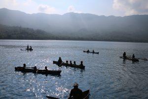 Vanuatu canoes