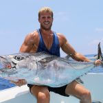Dog tooth tuna, jigging, vanuatu fishing, santo charter fishing,