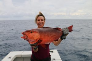 New Caledonia Red Bass