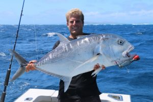 GT fishing, new caledonia