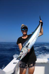 Fishing vanuatu wahoo