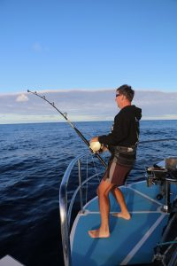 Whanganella Banks, November rain, striped marlin, new zealand, sport fishing